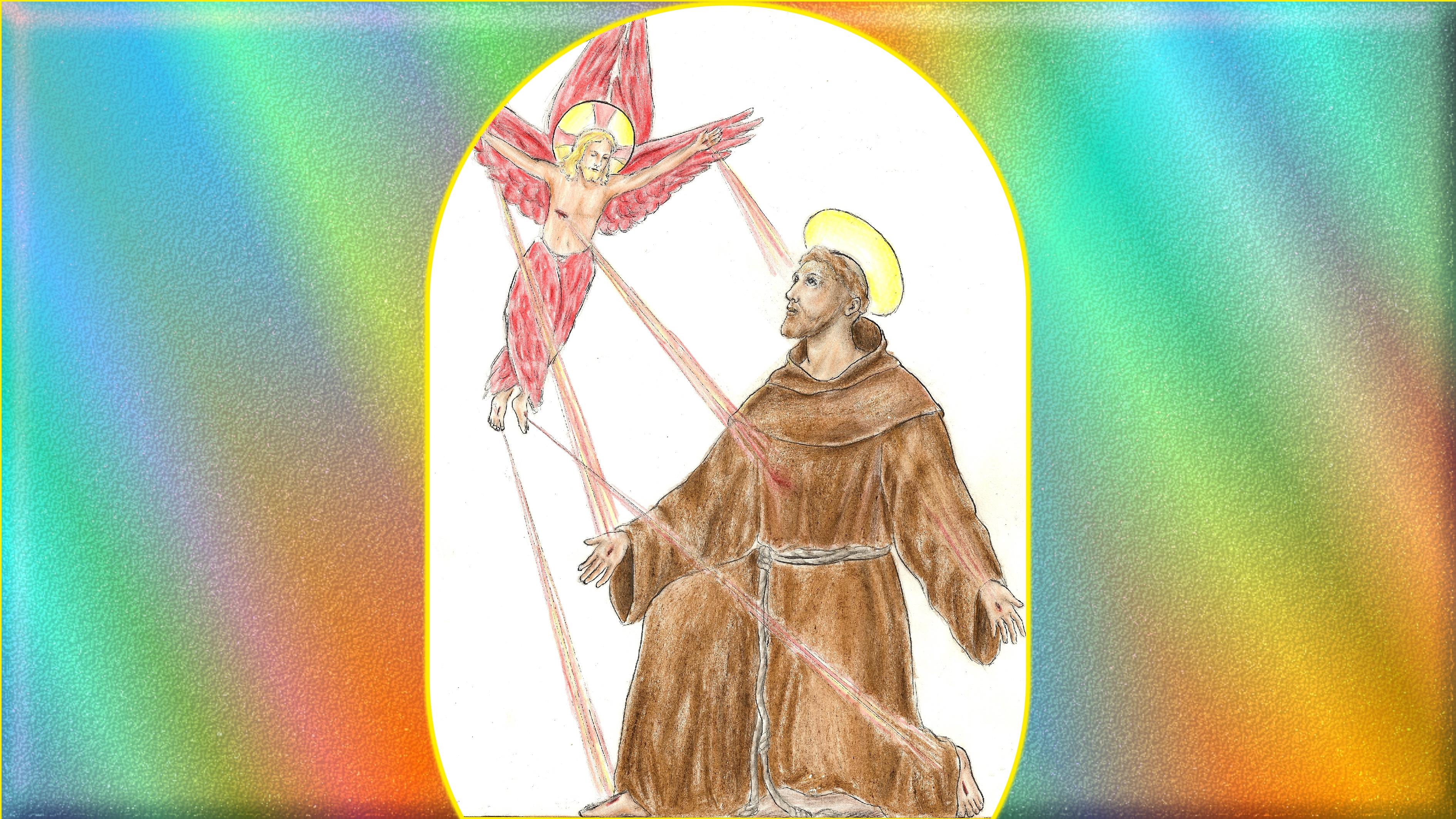 CALENDRIER CATHOLIQUE 2019 (Cantiques, Prières & Images) - Page 9 Stigmatisation-de...d-assise-5692dda