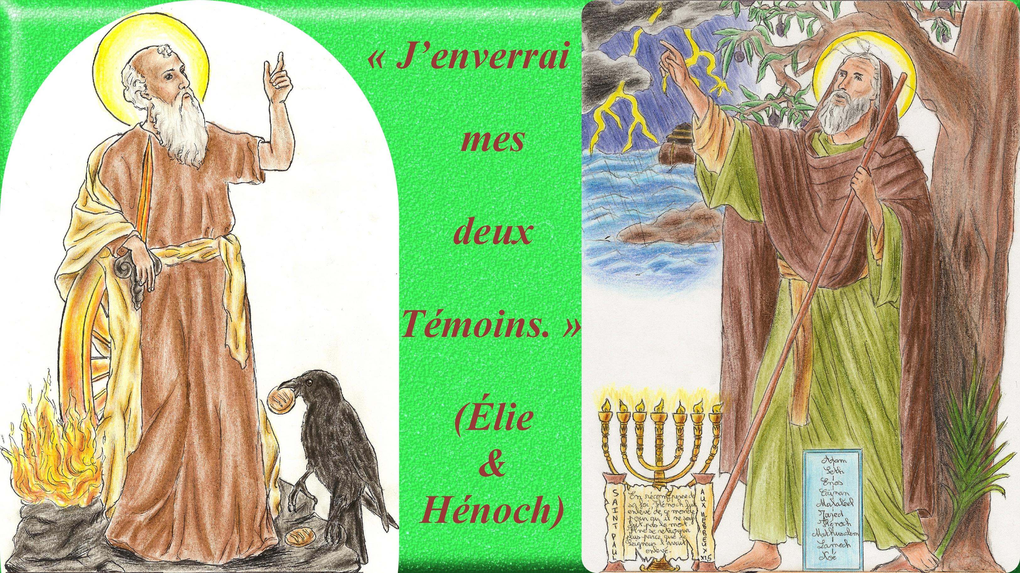 CALENDRIER CATHOLIQUE 2019 (Cantiques, Prières & Images) - Page 12 Le-st-proph-te-lie-st-h-noch-56ae3c9