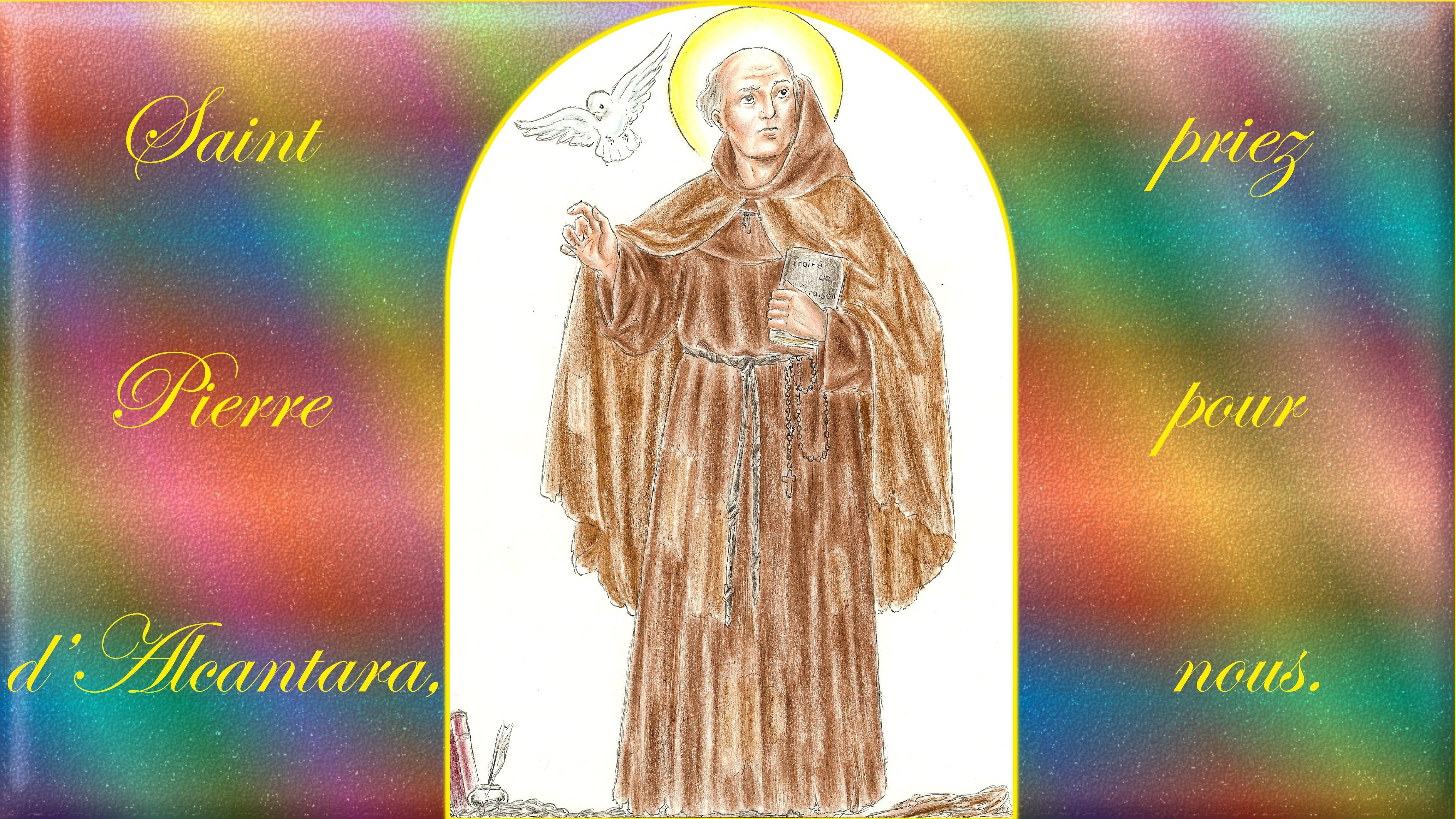 CALENDRIER CATHOLIQUE 2019 (Cantiques, Prières & Images) - Page 12 St-pierre-d-alcantara-56ad53b