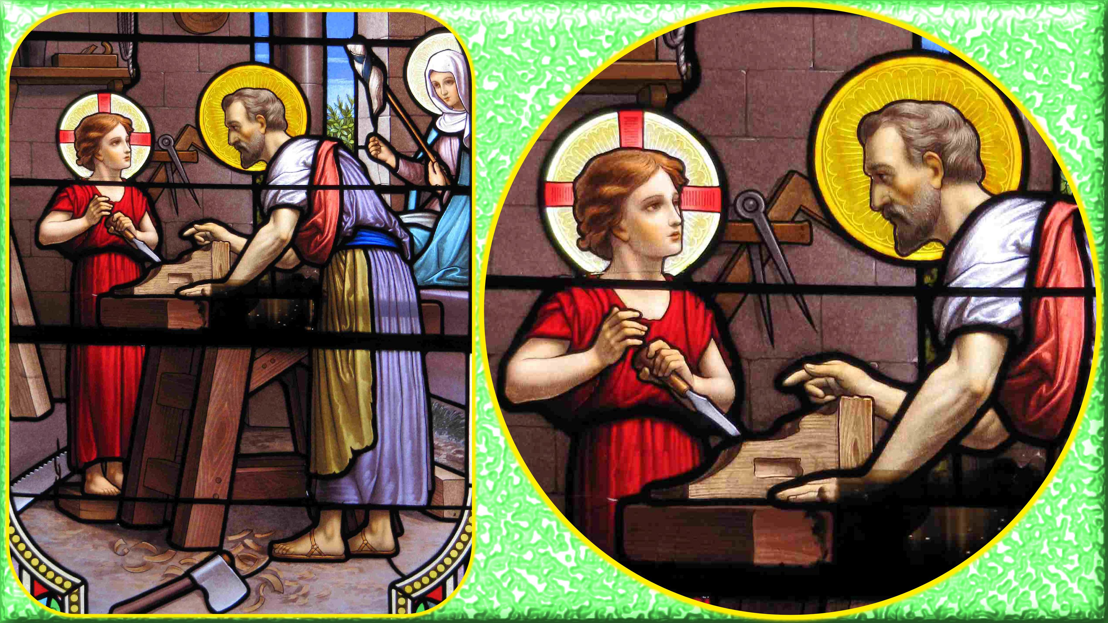 CALENDRIER CATHOLIQUE 2020 (Cantiques, Prières & Images) - Page 13 St-joseph-artisan-57528e5