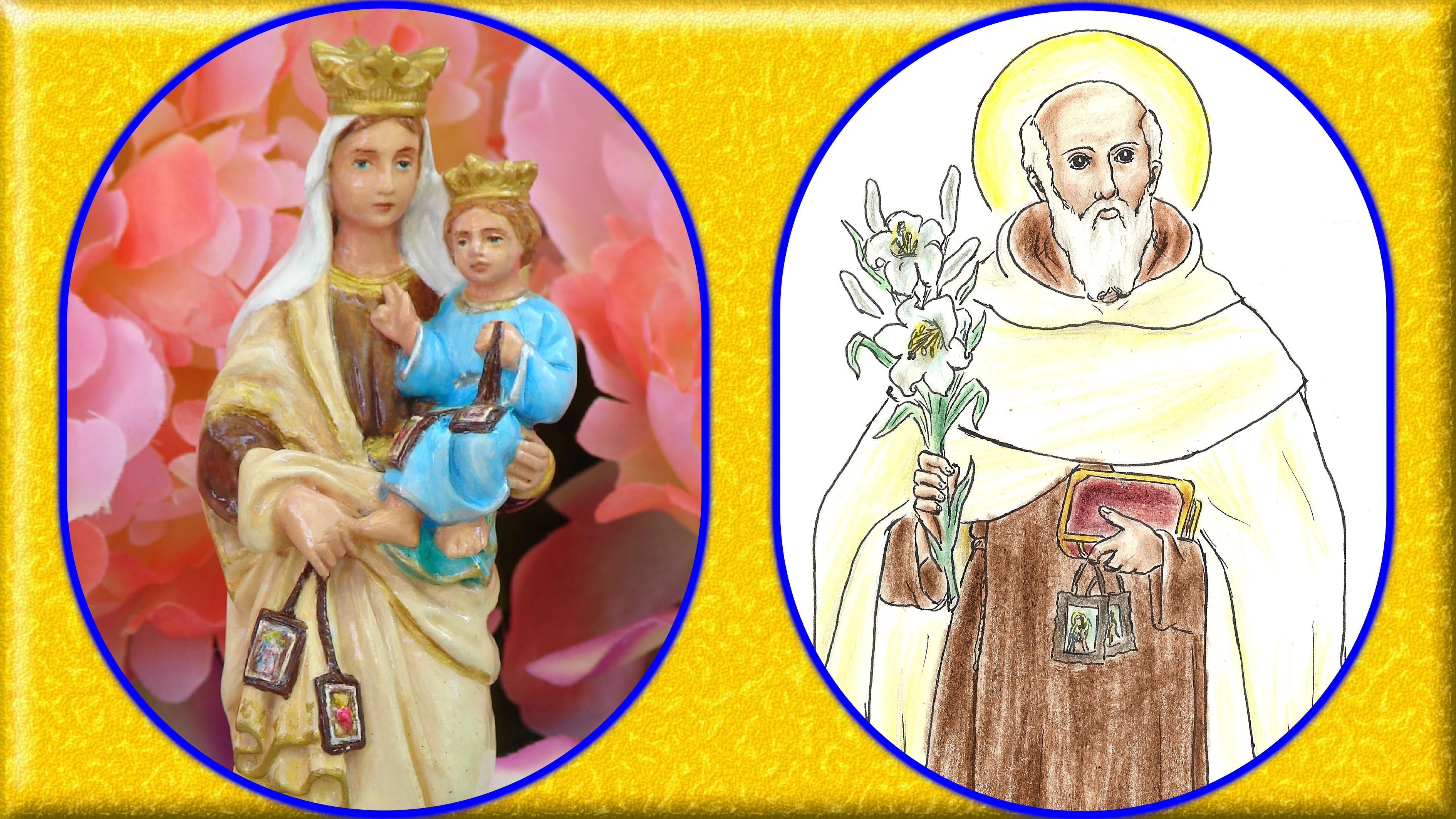 CALENDRIER CATHOLIQUE 2020 (Cantiques, Prières & Images) - Page 14 Notre-dame-du-mon...-d-tail--5761194